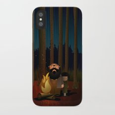 Where The Woods Finds Us iPhone X Slim Case