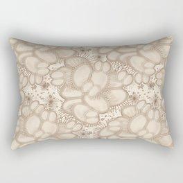 Venus Fly Trap Abstract Rectangular Pillow