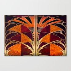 Gold Deco Canvas Print