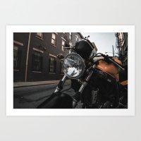 The Ride Art Print