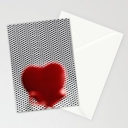 Heart in a cell Stationery Cards