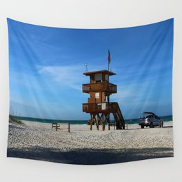 Marine Rescue Wall Tapestry