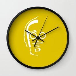 C3PO - Japanese kanji for 'Talk' Wall Clock