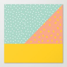 80's Abstract 1 Canvas Print