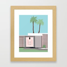 Palm Springs 1 Framed Art Print