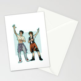 Be Excellent To Each Other Stationery Cards