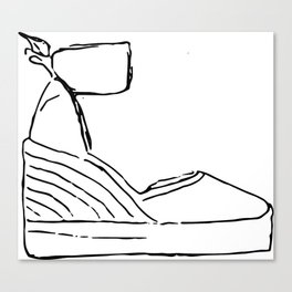 wedge Canvas Print