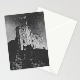 Cardiff Castle Keep Black and White-Wales #photography Stationery Cards