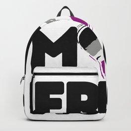 Free Mom Hugs Shirt, Free Mom Hugs Asexual Pride LGBTQIA Backpack