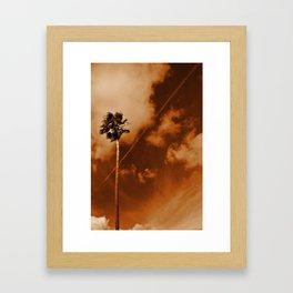 Sky Trail Framed Art Print