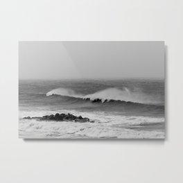 Storm over the sea coast. Metal Print