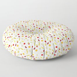 vegetable pattern Floor Pillow