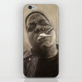 Biggie in Charcoal iPhone Skin