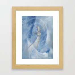 Heaven Bound .. fantasy art Framed Art Print
