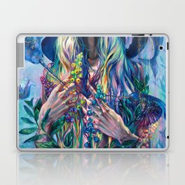 The Rustle of Narwhal's Wings Laptop & iPad Skin