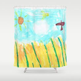 Farmlands Shower Curtain