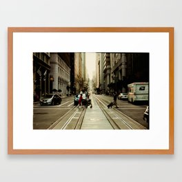 San Francisco Hills 2 Framed Art Print