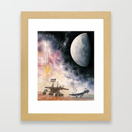 Space Exploration Framed Art Print