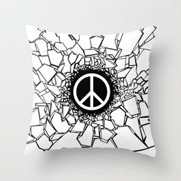Peacebreaker II Throw Pillow