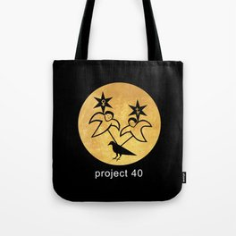 project 40 black Tote Bag
