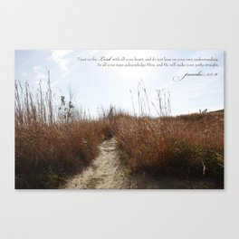 Your Path Canvas Print