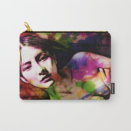 Thoughtful Woman 2 Carry-All Pouch