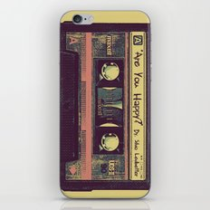 Are You Happy?  |  Cassette Tape iPhone & iPod Skin