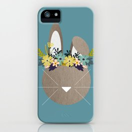 Spring Hare iPhone Case