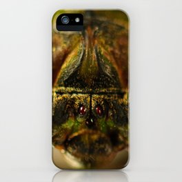 Cicada Chaos iPhone Case