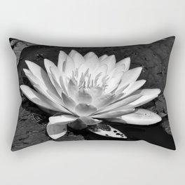 Water Lilly Bloom Rectangular Pillow