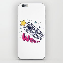 Catach a Shooting Star iPhone Skin