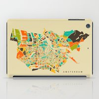 amsterdam iPad Cases featuring Amsterdam by Nicksman