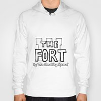 logo Hoodies featuring Logo by The Fort by The Smoking Roses!