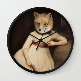 lady foxley Wall Clock