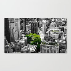 NYC - Green Park Canvas Print