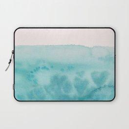 Waves of Love Aqua Laptop Sleeve