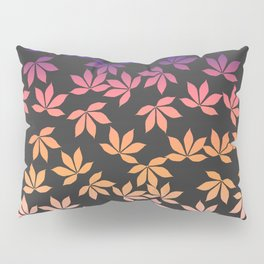 chestnut leaves pattern design color Pillow Sham