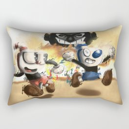 Cuphead & Mugman Rectangular Pillow