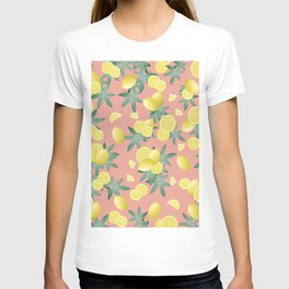 Lemon Twist Vibes #2 #tropical #fruit #decor #art #society6 T-shirt