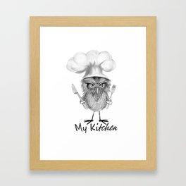 My Kitchen Framed Art Print