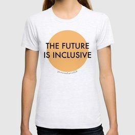The Future Is Inclusive - Orange T-shirt