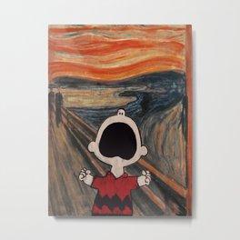 Charlie Munch Brown Metal Print