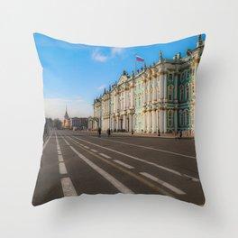 The Winter Palace Throw Pillow