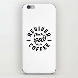 Revived By Coffee v2 iPhone Skin
