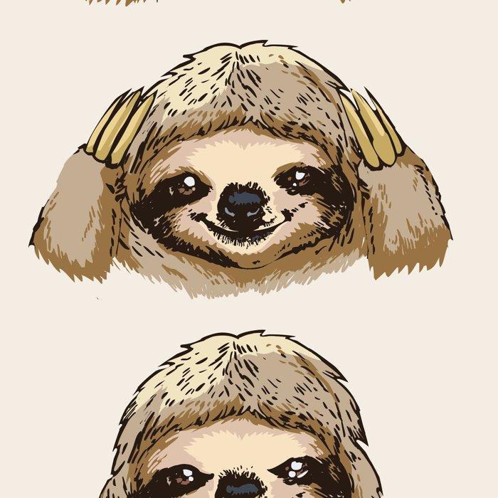 No Evil Sloth Leggings