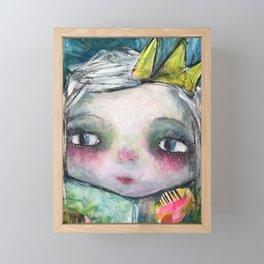 My Sweet Crown - Bright Tone  Framed Mini Art Print
