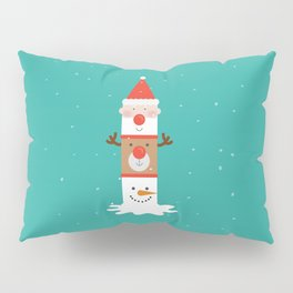 Holiday Totem Pillow Sham