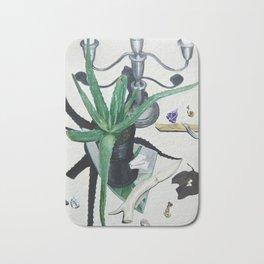 Healing Aloe Flora Spell Bath Mat