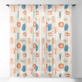 Hey, girls! Sheer Curtain