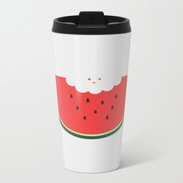 Water Melon Metal Travel Mug